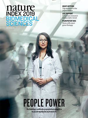 Nature Index 2019 Biomedical Sciences