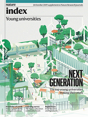 Nature Index 2019 Young Universities